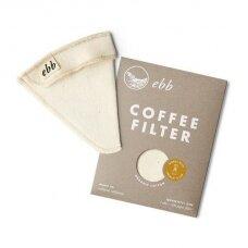Medžiaginis Ebb filtras skirtas Chemex 3 cup. kavavirei