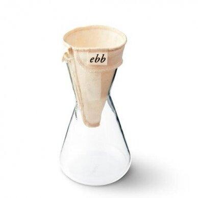 Medžiaginis Ebb filtras skirtas Chemex 3 cup. kavavirei 2
