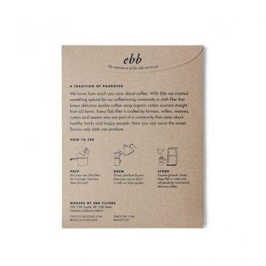 Medžiaginis Ebb filtras skirtas Chemex 3 cup. kavavirei 4