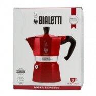 "Moka kavavirė Bialetti ""Moka Express 3 cups Red"" 150ml"