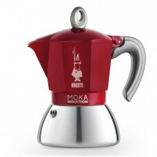 "Moka kavavirė Bialetti ""Moka Induction 6-cup Red"" 300ml"