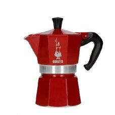 "Moka kavavirė Bialetti ""Moka Express 3 cups Red"" 150ml"
