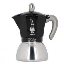 "Moka kavavirė Bialetti ""Moka Induction 4-cup Black"" 300ml"