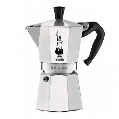 "Moka kavavirė Bialetti ""Moka Express 6 cups Silver"" 270ml"