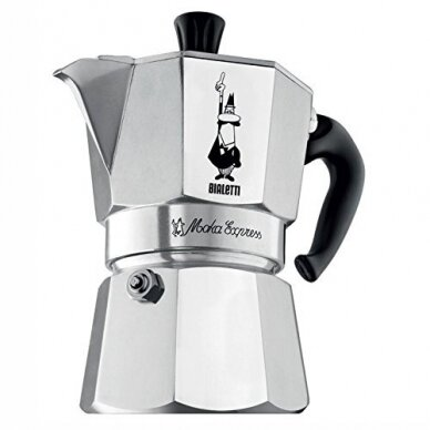 "Moka kavavirė Bialetti ""Moka Express 6 cups Silver"" 270ml 2"