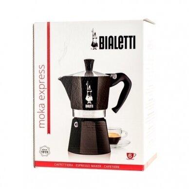 "Moka kavavirė Bialetti ""Moka Express 6 cup Black"" 270ml 3"