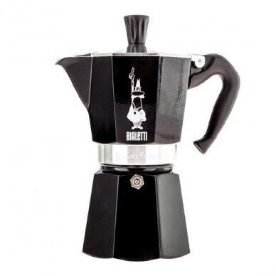 "Moka kavavirė Bialetti ""Moka Express 6 cup Black"" 270ml"