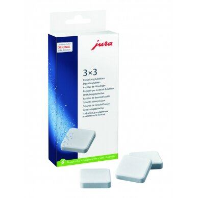 Nukalkinimo tabletės JURA 3 ciklai