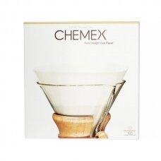 Popieriniai filtrai Chemex Apvalūs 100vnt.