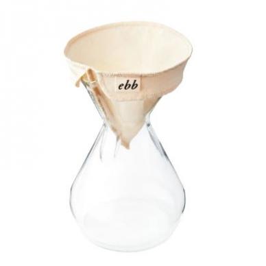 Medžiaginis Ebb filtras skirtas Chemex 6-10 kavavirei 2