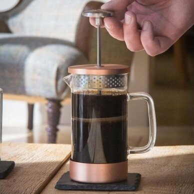 Prancūziškas kavinukas Barista & Co Copper, 1000ml 2
