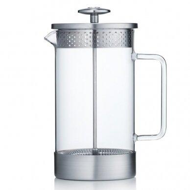 Prancūziškas kavinukas Barista & Co Silver, 1000ml