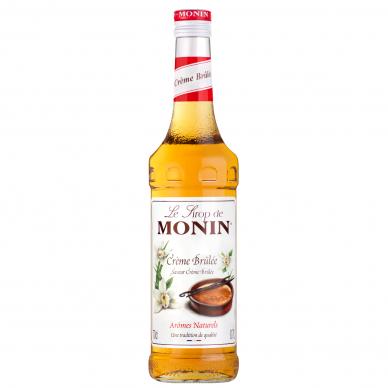 Sirupas MONIN Creme Brulee 0.7l