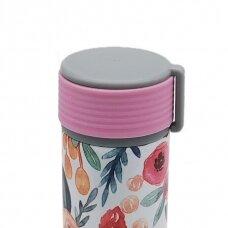 """Termo gertuvė Asobu """"Skinny Mini Gėlėta"""", 230 ml"""